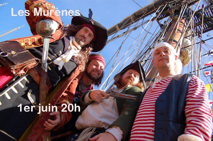 Les Murènes. Chansons grivoises et piraterie
